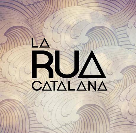 La Rua Catalana logo con sfondo