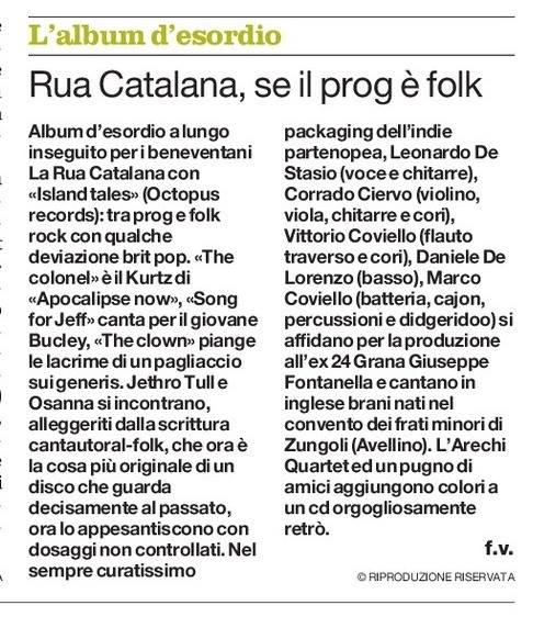 larua catalana sul mattino